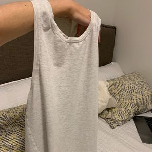 Lululemon open back tank top
